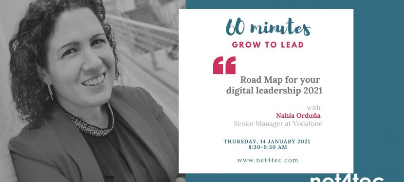 60 minutes GROW TO LEAD – Road Map for your digital leadership 2021