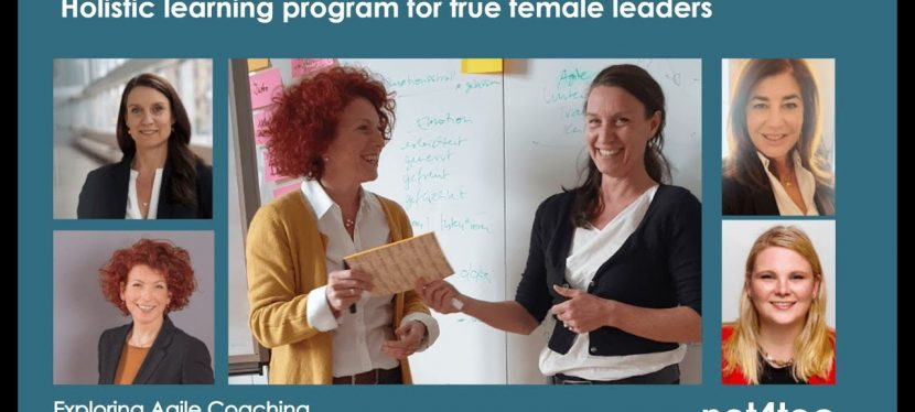 entre nous | exploring agile coaching | holistic training program for true female leaders | net4tec