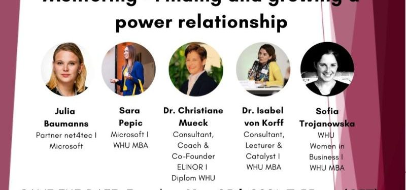 Eager 2 Grow: Mentoring- Finding & Growing a power relationship